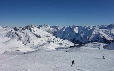 Ein perfekter Arlberg Skitag