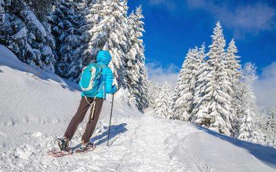 Schneeschuh Wandern &  beliebte Winterwanderwege