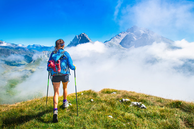 Nordic Walking Arlberg Beliebte Routen