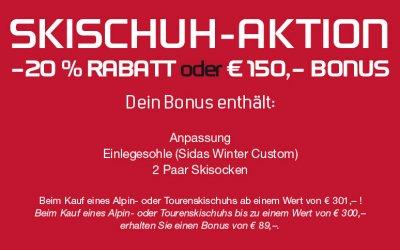 Skischuh Aktion Sport Matt Wintereröffnung 24.11.18