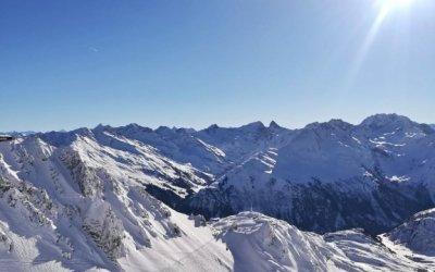 Perfecte sneeuwcondities op de Arlberg