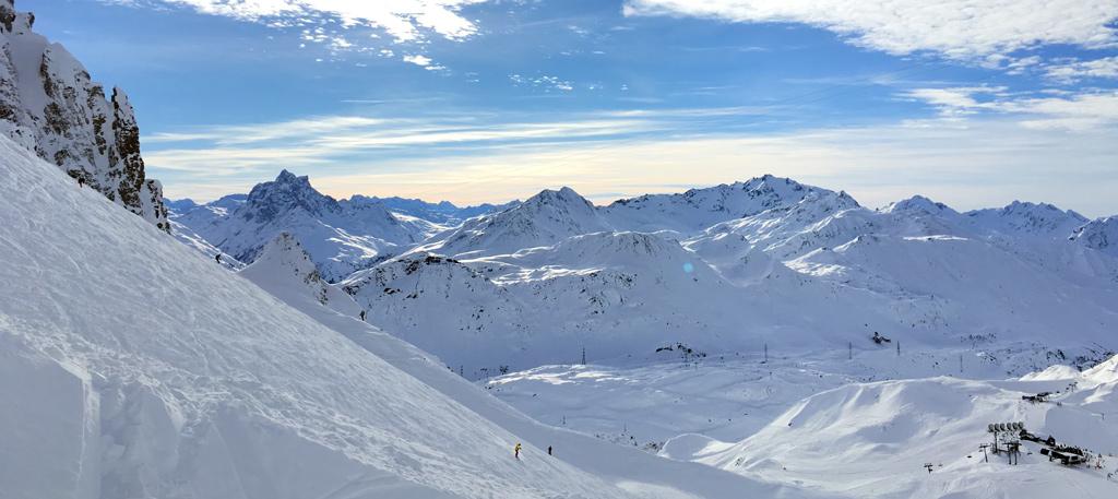 Skiurlaub am Arlberg mit Leihski von Sport Matt