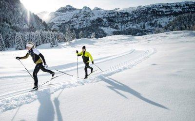 Langlaufen am Arlberg Langlaufski-Verleih Sport Matt