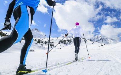 LANGLAUFEN Tipps & Tricks & Langlaufski Verleih am Arlberg