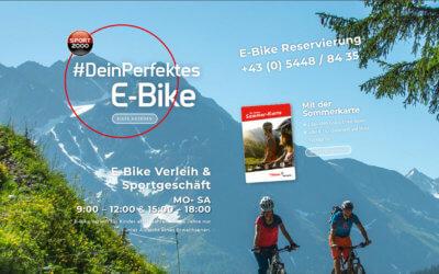 JETZT! Dein perfektes E-Bike leihen