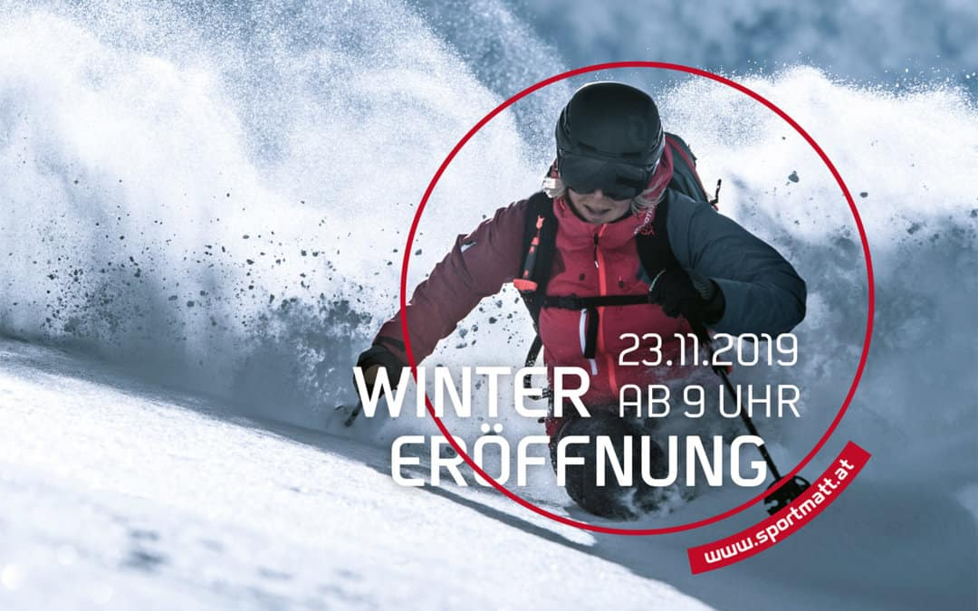 LET'S START!Sport Matt Winter Eröffnung 2019